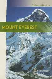 Nature's Wonders: Mount Everest by Ann Heinrichs