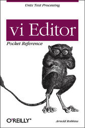 vi Editor Pocket Reference