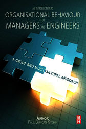 An Introduction to Organisational Behaviour for Managers and Engineers by Duncan Kitchin