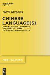 Chinese Language(s) by Maria Kurpaska