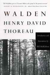 Walden by Bill Mckibben