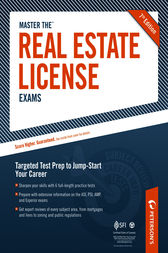 Master the Real Estate License Exam: Practice Test 6 by Peterson's
