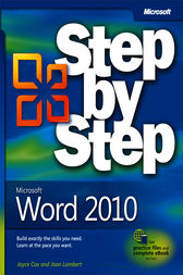 Microsoft® Word 2010 Step by Step by Joyce Cox