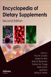 Encyclopedia of Dietary Supplements by Paul M. Coates