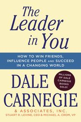 The Leader In You by Dale Carnegie