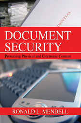 Document Security by Ronald L. Mendell