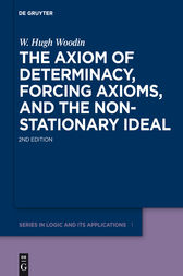 The Axiom of Determinacy, Forcing Axioms, and the Nonstationary Ideal by W. Hugh Woodin