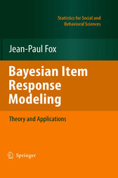 Bayesian Item Response Modeling by Jean-Paul Fox