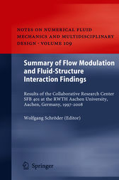 Summary of Flow Modulation and Fluid-Structure Interaction Findings by Wolfgang Schröder