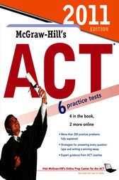 McGraw-Hill's ACT, 2011 Edition by Steven Dulan