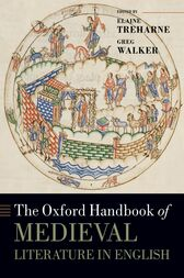 The Oxford Handbook of Medieval Literature in English by Elaine Treharne