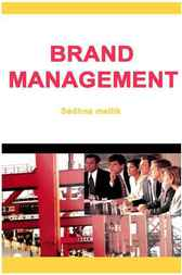 Brand Management by Sadhna Mallik