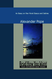 alexander pope and essay on