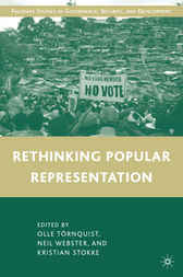 Rethinking Popular Representation by Olle Törnquist
