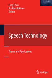 Speech Technology by Fang Chen