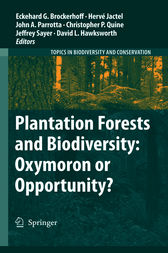 Plantation Forests and Biodiversity: Oxymoron or Opportunity? by Eckehard G. Brockerhoff
