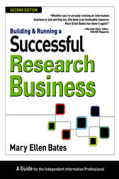 Building & Running a Successful Research Business by Mary Ellen Bates