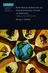 Non-Discrimination in International Trade in Services by Nicolas F. Diebold
