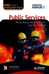 BTEC Level 3 National Public Services by Marilyn Breeze
