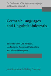 Germanic Languages and Linguistic Universals by John Ole Askedal