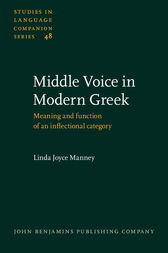 Middle Voice in Modern Greek
