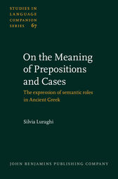 On the Meaning of Prepositions and Cases by Silvia Luraghi
