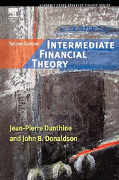Intermediate Financial Theory by Jean-Pierre Danthine