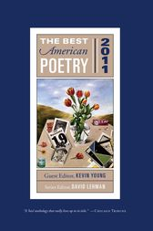 The Best American Poetry 2011 by David Lehman