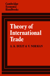Theory of International Trade by Avinash Dixit