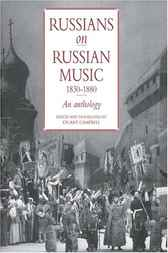 Russians on Russian Music, 1830–1880