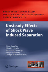 Unsteady Effects of Shock Wave induced Separation by Piotr Doerffer
