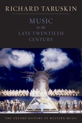 Music in the Late Twentieth Century
