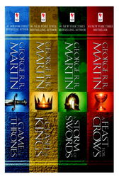A Game of Thrones 4-Book Bundle by George R.R. Martin