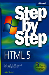 HTML5 Step by Step