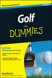 Golf For Dummies by McCord