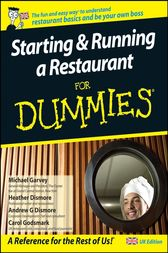 Starting and Running a Restaurant For Dummies, UK Edition