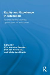 Equity and Excellence in Education