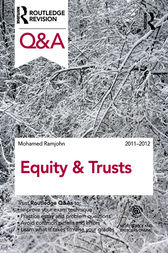 Q&A Equity & Trusts 2011-2012 by Mohamed Ramjohn