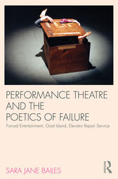 Performance Theatre and the Poetics of Failure by Sara Jane Bailes