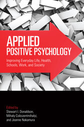 Applied Positive Psychology by Stewart I. Donaldson