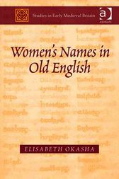 Women's Names in Old English by Elisabeth Okasha