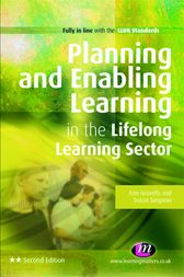 Planning and Enabling Learning in the Lifelong Learning Sector by Ann Gravells