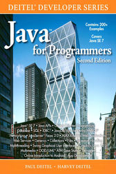 Java™ for Programmers by Paul Deitel