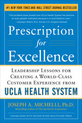 Prescription for Excellence: Leadership Lessons for Creating a World Class Customer Experience from UCLA Health System EBOOK
