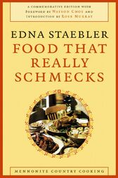 Food That Really Schmecks by Edna Staebler