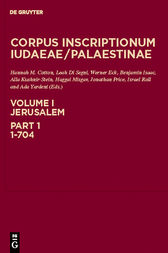 Jerusalem, Part 1: 1-704 by Denis Feissel