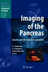 Imaging of the Pancreas by Emil J. Balthazar
