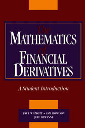 The Mathematics of Financial Derivatives
