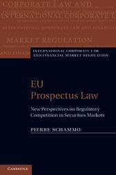 EU Prospectus Law by Pierre Schammo