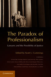 The Paradox of Professionalism by Scott L. Cummings
